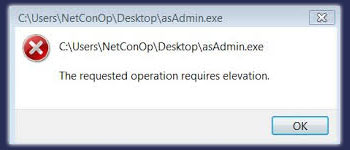 How to Fix the \u201cThe Requested Operation Requires Elevation\u201d Error? |